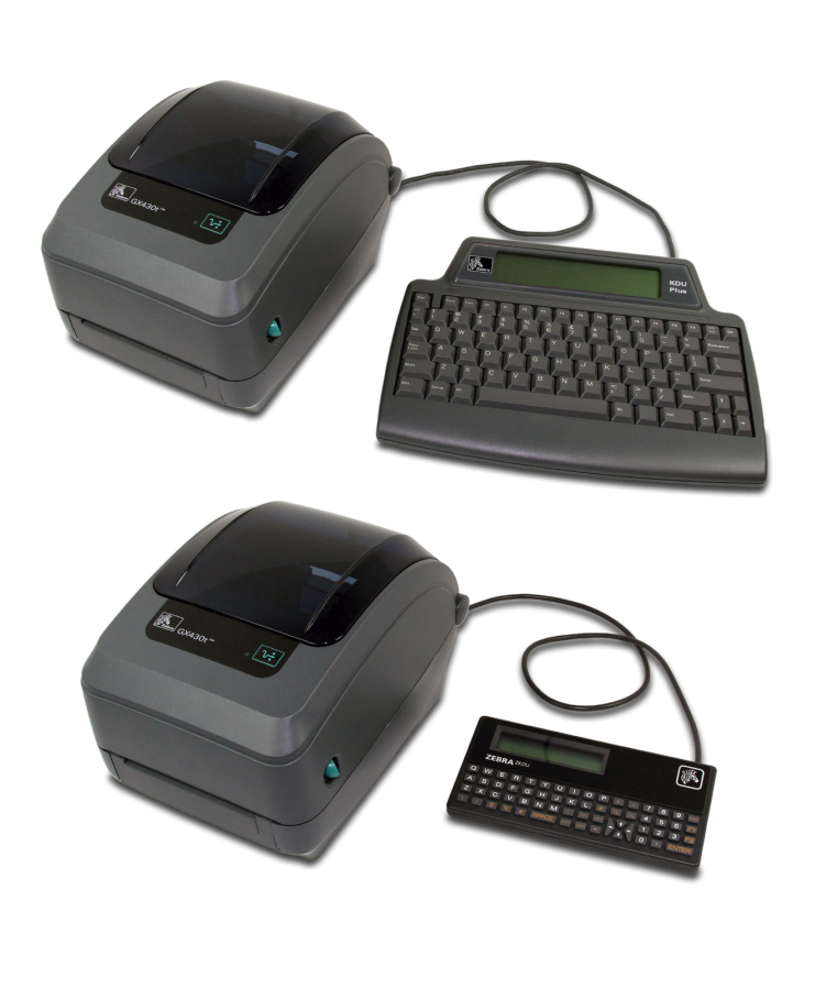 Zebra Keyboard Display Units